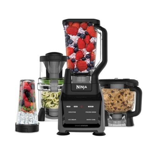 נוטרי נינג'ה חכם 4 ב-1 Ninja Intelli-Sense Blender CT683