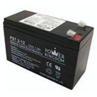 סנסציוני מדיה גלקסי | סוללה נטענת 12V עוצמה 7A תוצרת Power Kingdom / סוללות IX-56