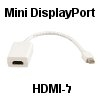 כבל מתאם Mini DisplayPort ל-HDMI מבית NEDIS דגם CABLE1107-0.2
