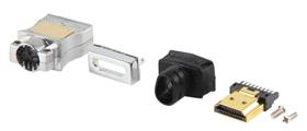קונקטור HDMI מקצועי להרכבה עצמית תוצרת HQ