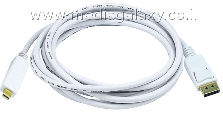 כבל איכותי mini Displayport ל-Displayport