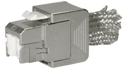שקע קיסטון CAT6A מסוכך STP תוצרת 3M